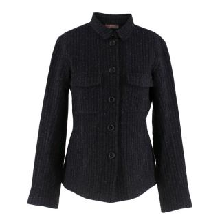 Prada Textured Wool Shirt