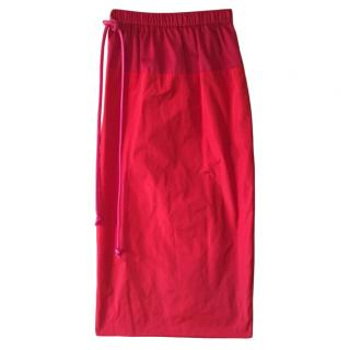 Sportmax Sfilata collection red pencil skirt