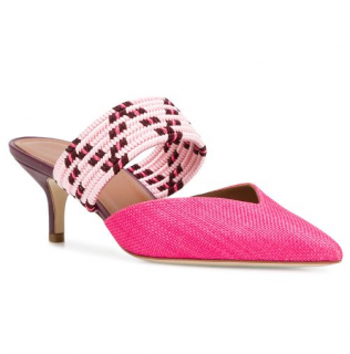 Malone Souliers Pointed Rope Mules