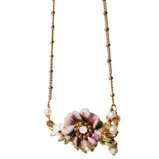 Les Nereides Provence Garden Blossom Necklace