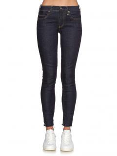 Simon Miller KNOX Dark Wash Mid-Rise Skinny Jeans