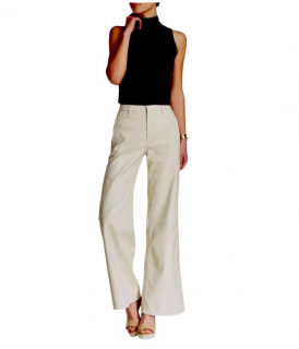 J Brand Ultra Wide Carine Leather Pants