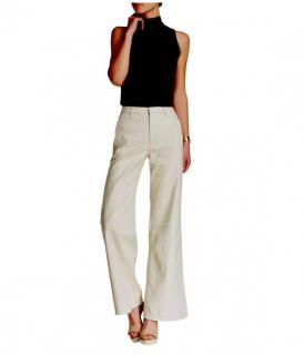 J Brand Ultra Wide Carine Leather Pants