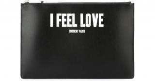 Givenchy Black I Feel Love Clutch