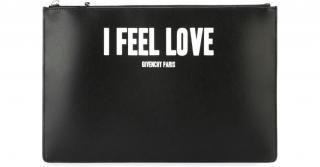 Givenchy Black I Feel Love Clutch