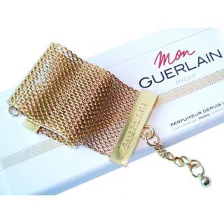 Guerlain Gold Mesh Bracelet