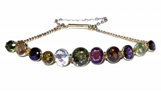 Bespoke Antique Harlequin Bracelet