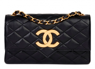 Chanel Vintage Leather Flap Bag
