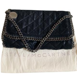 Stella McCartney soft black falabella shoulder bag