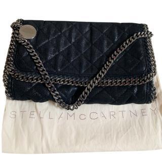 Stella McCartney soft black falabella shoulder bag