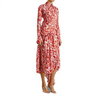 Preen Petunia red floral dress