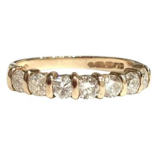 Bespoke 1ct diamond eternity ring