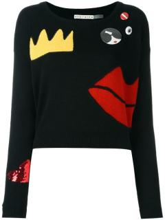 Alice+Olivia Chest Pin Jumper
