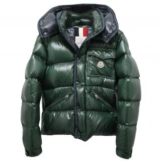 Moncler Men's Down Green Branson Jacket