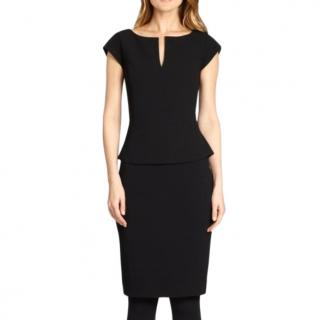 Tory Burch Black FItted Dress
