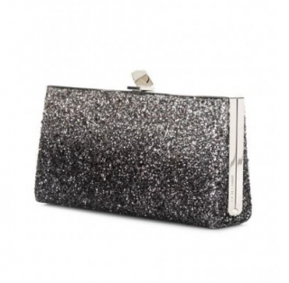 Jimmy Choo Glitter Degrade Celeste Clutch