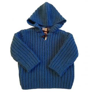 Stella McCartney kids blue wool jumper