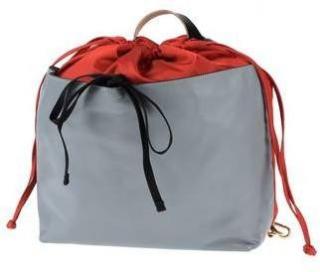 Marni leather and fabric duffle bag