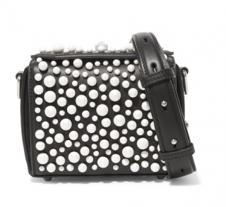 Alexander McQueen Faux Pearl Box Bag 16 - Sold Out