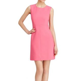 DVF fitted pink dress