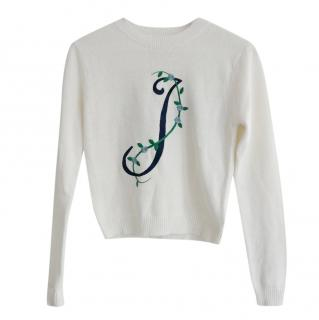 Opening Ceremony Knit Alphabet Sweater
