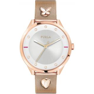 Furla Rose Gold Watch With interchangeable Pins