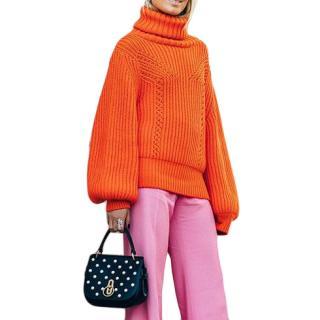 Rodebjer Orange Richa Knit Jumper
