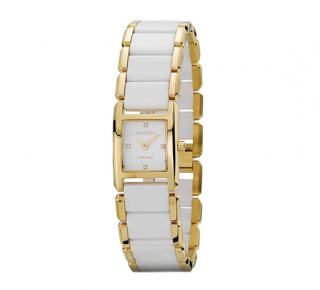 Pandora 14kt Gold Ceramic Watch