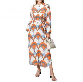 Essentiel Antwerp Troo Troo Printed Shirt Dress