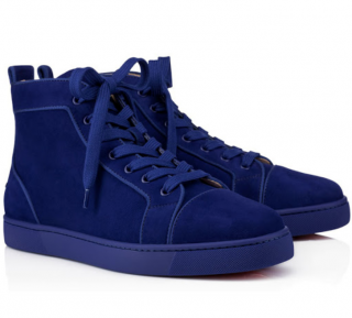 Christian Louboutins Men's Louis Orlato Flat High Tops
