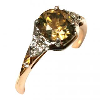 Cred Bespoke Diamond 18ct Gold Ring