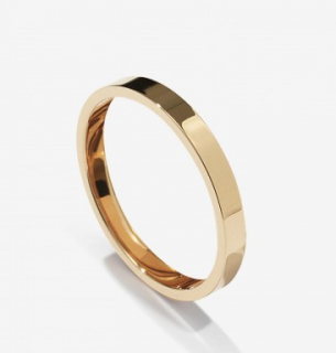 Repossi 18kt Yellow Gold Band Fingertip Ring