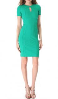 Diane Von Furstenberg Green Jersey Dress
