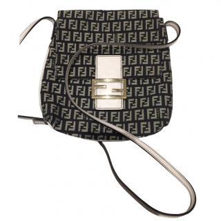 Fendi Zucca Monogram Shoulder Bag