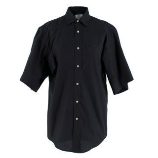 Vetements Black Cotton Short Sleeve Shirt