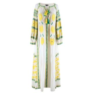 Diamond for Eden Beaded Embroidered Kaftan