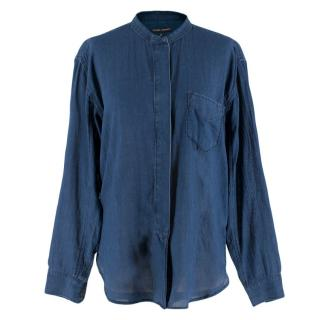 Citizens of Humanity Blue Cotton Shirt