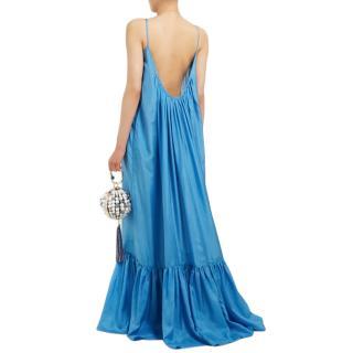 Kalita Brigitte habotai-silk maxi dress - Current