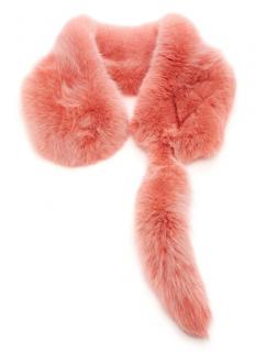 Zizi Donohoe Pink Fox Fur Celeste Stole