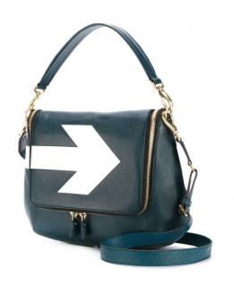Anya Hindmarch Maxi Zip Satchel Arrow Hand Bag