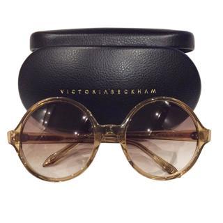 Victoria Beckham Round Gradient Sunglasses