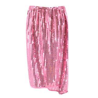 Comme des Gar�ons Pink Sequin Asymmetric Skirt