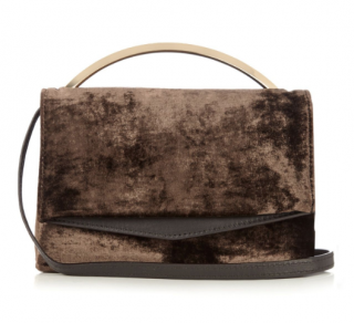 Eddie Borgo Boyd Vanity velvet cross-body bag