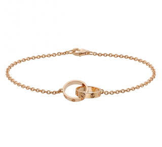 Cartier 18k Rose Gold Love Bracelet - Current Collection