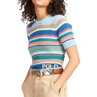 Polo Ralph Lauren Striped Short Sleeve Jumper