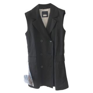 Max Mara Double Breasted Sleeveless Jacket