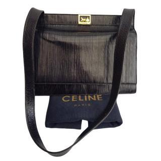 Celine Leather Square Shoulder Bag