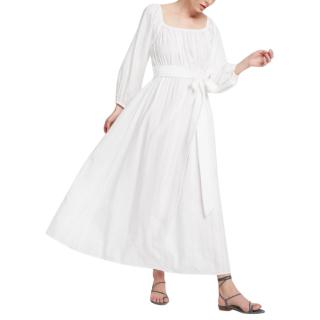 Mara Hoffman White Malika Dress