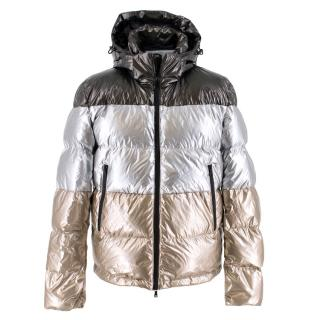 Paul & Shark Yatching Metallic Down Jacket