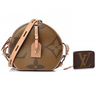 Louis Vuitton Giant Monogram Boite Chapeau Souple & Zippy Coin Purse